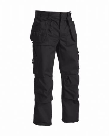Blaklader 1530 65% Polyester/35% Cotton Twill Trousers (Black)